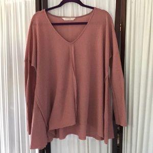 Rokoko by Dazz boho tunic sweater